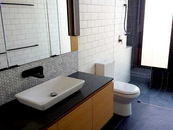 Bathroom renovation completion by Liquid Plumbing Solutions