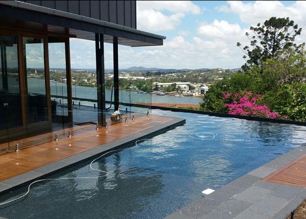 Residential pool in Brisbane