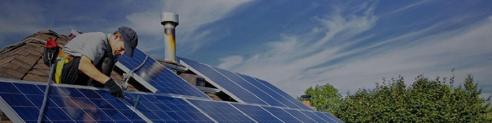 Brisbane plumber installing solar panels