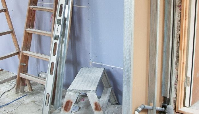 Home renovation site
